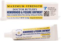 MEDECIN BUTLER HEMORROIDE and FISSURE POMMADE 26 GRAMMES