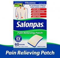 PATCHS ANTIDOULEUR SALONPAS 60 POINTS