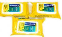 PREPARATION H MEDICAMENTEUX HEMORROIDES WIPES PACK DE 3 180 TOTAL DE SERVIETTES