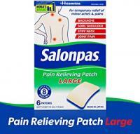 SALONPAS  LARGE PATCHS 6 COUNTS