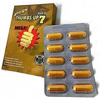 THUMBS UP 7 GOLD 10 CAPSULES