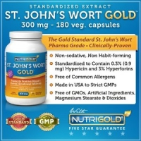 St Johns Wort Extract 300mg-Millepertuis 180 caps